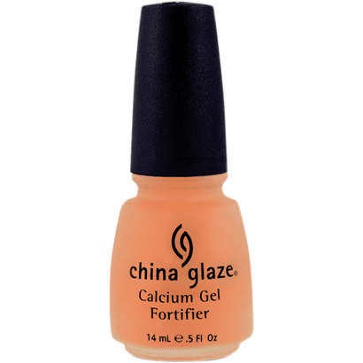 China Glaze Nail Treatment 14ml - Calcium Gel Fortifier - Love This Colour