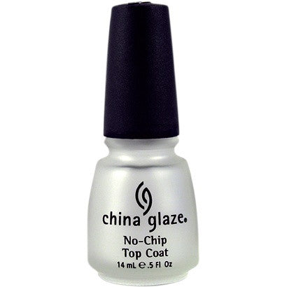 China Glaze Nail Treatment 14ml - No Chip Top Coat - Love This Colour