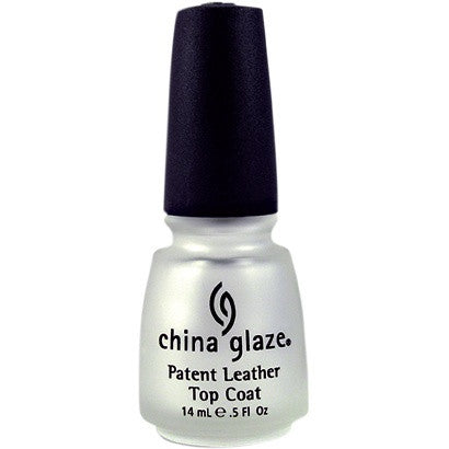 China Glaze Nail Treatment 14ml - Patent Leather Top Coat - Love This Colour