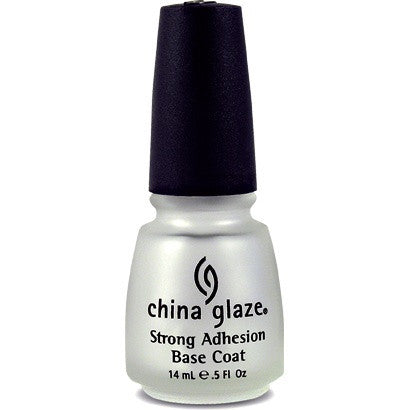 China Glaze Nail Treatment 14ml - Strong Adhesion Base Coat - Love This Colour