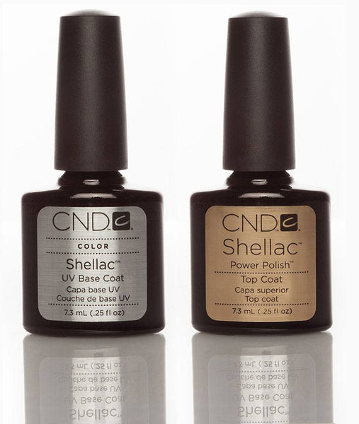 CND Shellac Base & Top Coat Duo 7.3ml - Love This Colour