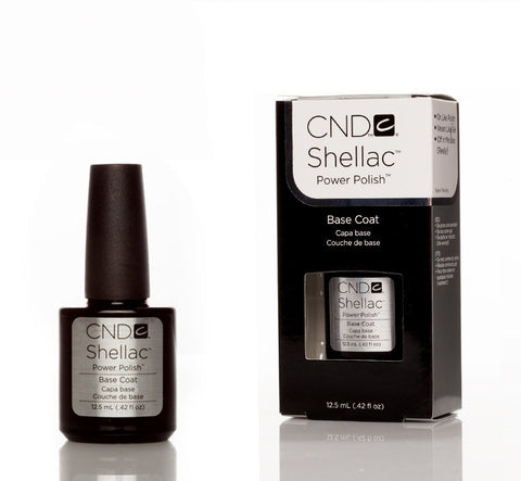 CND Shellac UV Nail Base Coat - 12.5ml - Love This Colour