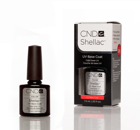 CND Shellac UV Nail Base Coat - 7.3ml - Love This Colour