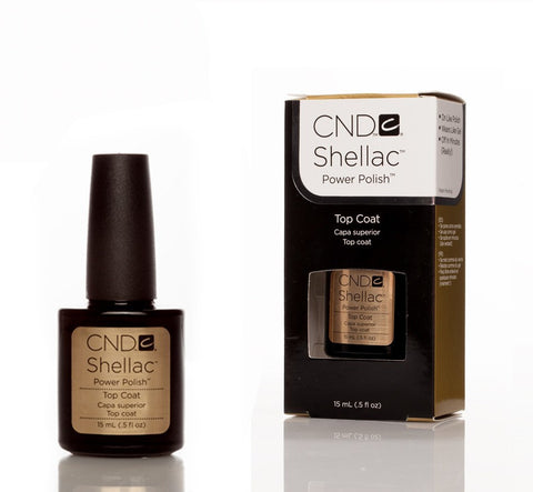 CND Shellac UV Nail Top Coat - 15ml - Love This Colour