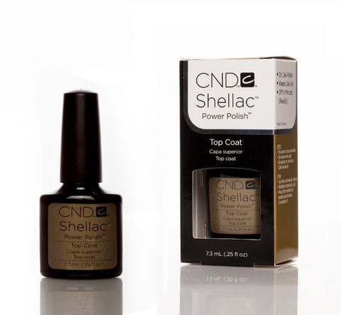 CND Shellac UV Nail Top Coat - 7.3ml - Love This Colour