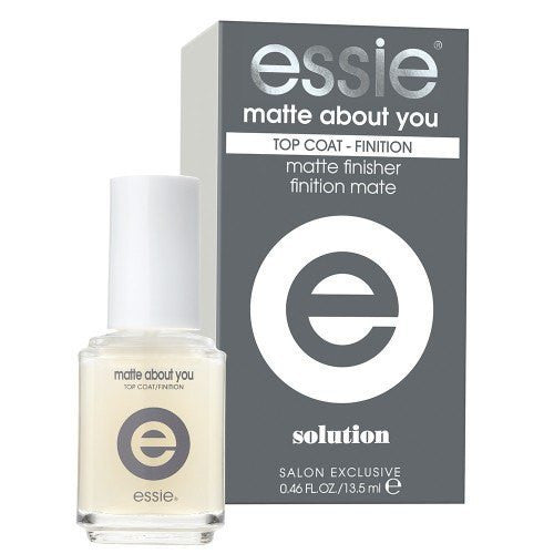 Essie Nail Treatment 13.5ml - Matte About You Top Coat - Love This Colour