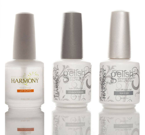 Harmony Gelish Basic Treatments Bundle - Love This Colour