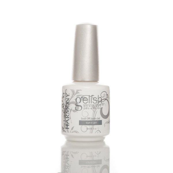 Harmony Gelish Soak Off Nail Polish - Top It Off Sealer 15ml - Love This Colour
