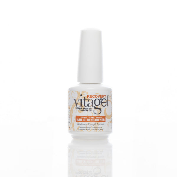 Harmony Gelish Soak Off Nail Polish - VitaGel Nail Strengthener RECOVERY 15ml - Love This Colour