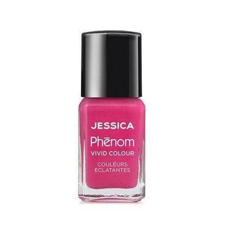 Jessica Phenom Vivid Colour Weekly Nail Polish 15ml- Barbie Pink - Love This Colour