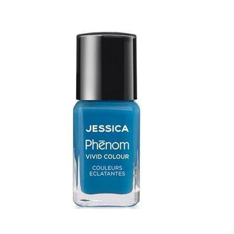Jessica Phenom Vivid Colour Weekly Nail Polish 15ml- Fountain Bleu - Love This Colour
