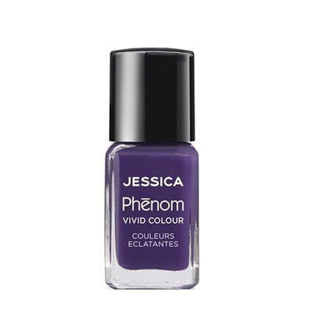 Jessica Phenom Vivid Colour Weekly Nail Polish 15ml- Grape Gatsby - Love This Colour