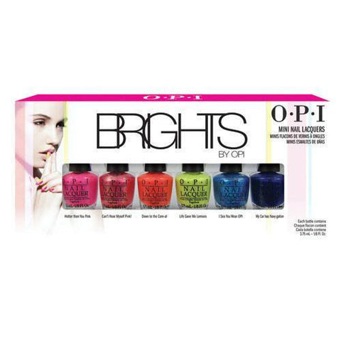 OPI Brights 2015 Mini Lacquer Collection - Set of 6 - Love This Colour