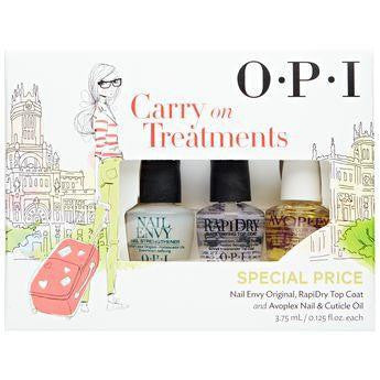 OPI Carry On Treatments Mini Collection - Set of 3 - Love This Colour
