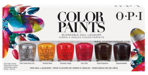 OPI Color Paints 2015 Mini Lacquer Collection - Set of 6 - Love This Colour