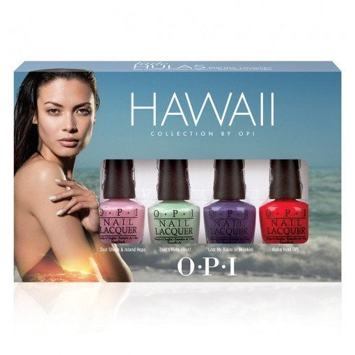 OPI Hawaii 2015 Mini Lacquer Collection - Set of 4 - Love This Colour