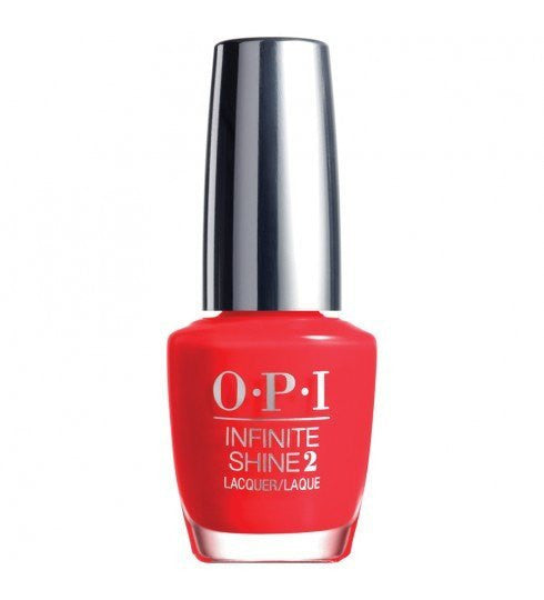 OPI Infinite Shine Lacquer 15ml - Unrepentantly Red - Love This Colour