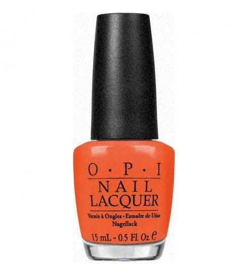 OPI Nail Lacquer 15ml - A Good Man-Darin Is Hard To Find - Love This Colour