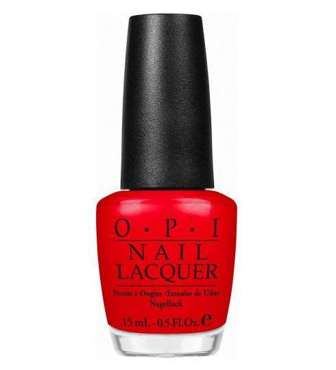 OPI Nail Lacquer 15ml - Big Apple Red - Love This Colour