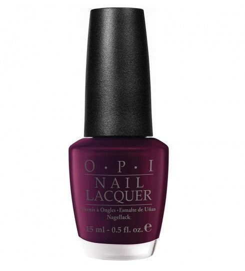 OPI Nail Lacquer 15ml - Black Cherry Chutney - Love This Colour