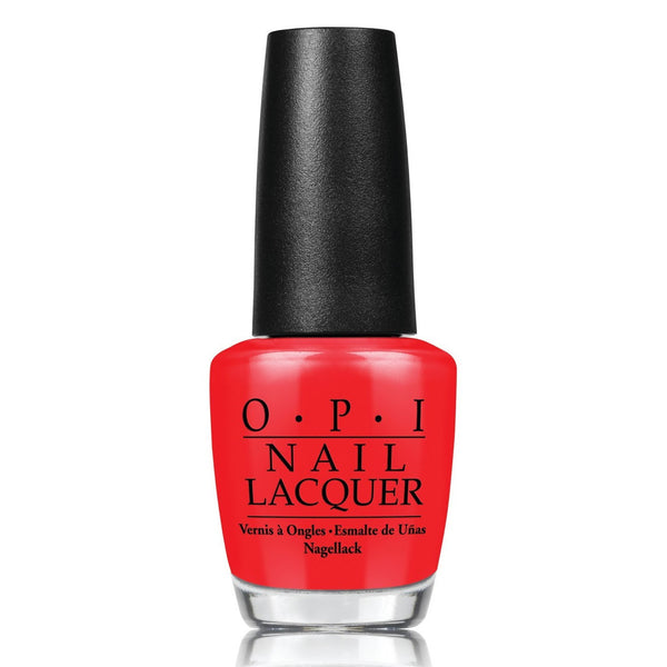 OPI Nail Lacquer 15ml - I Stop For Red - Love This Colour