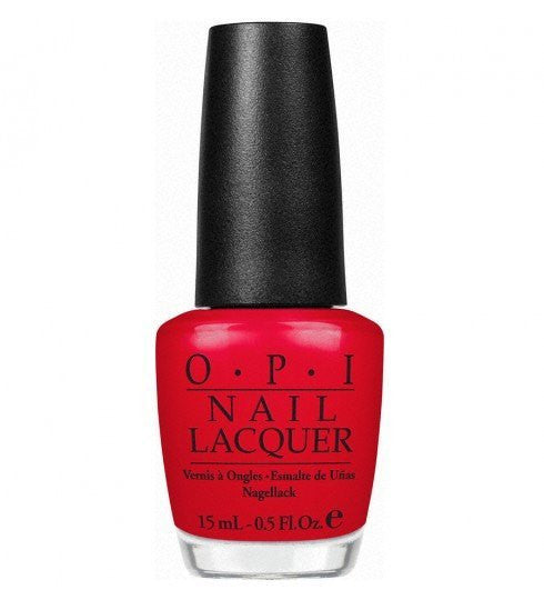 OPI Nail Lacquer 15ml - OPI Red - Love This Colour