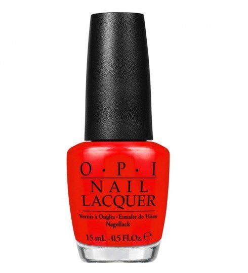 OPI Nail Lacquer 15ml - Red My Fortune Cookie - Love This Colour