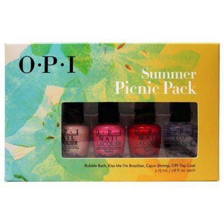 OPI Summer Picnic 2015 Mini Lacquer Collection - Set of 4 - Love This Colour