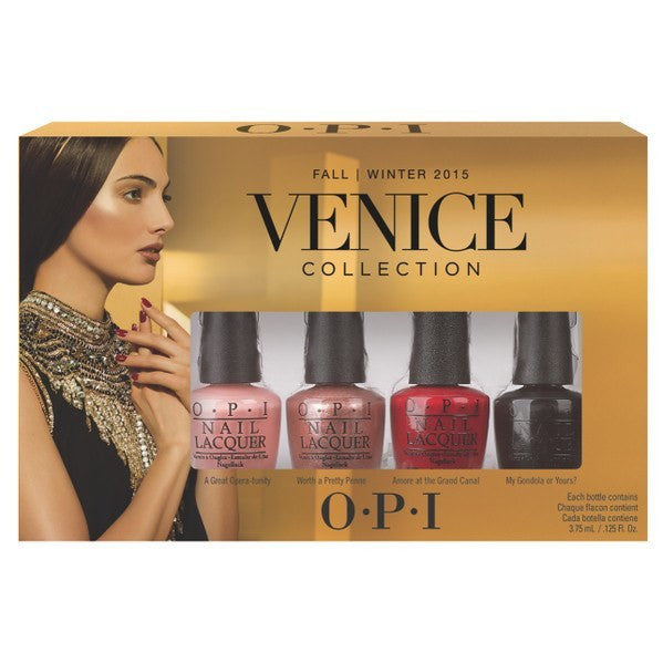 OPI Venice 2015 Mini Lacquer Collection - Set of 4 - Love This Colour