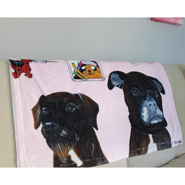 Custom Dog Blanket