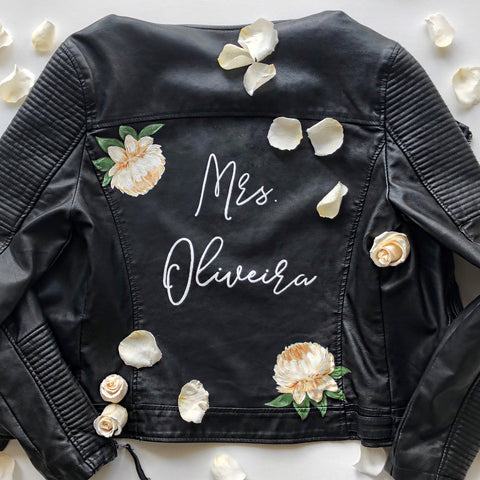 Custom Hand painted Leather or denim Jacket