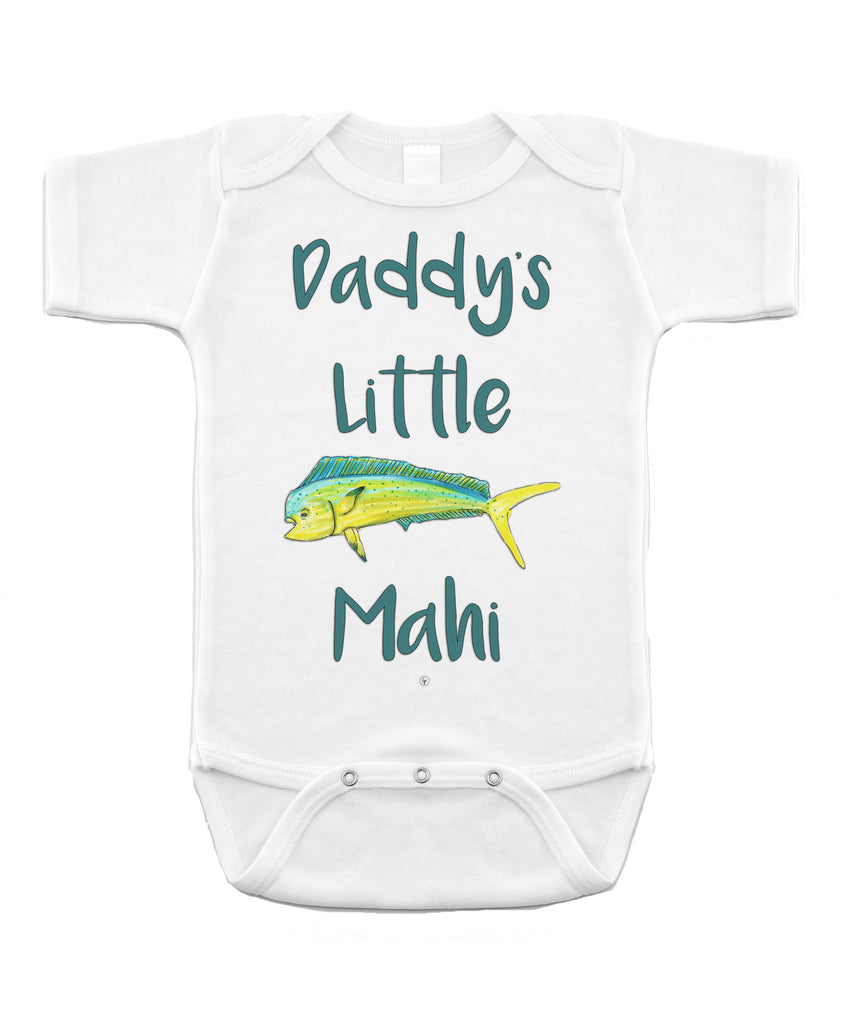Daddy's Little Mahi Onesie