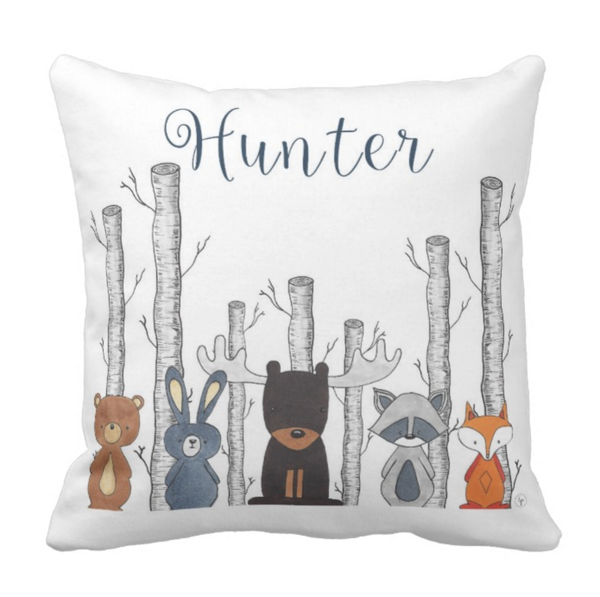 Into to the forest Personalized Pillow