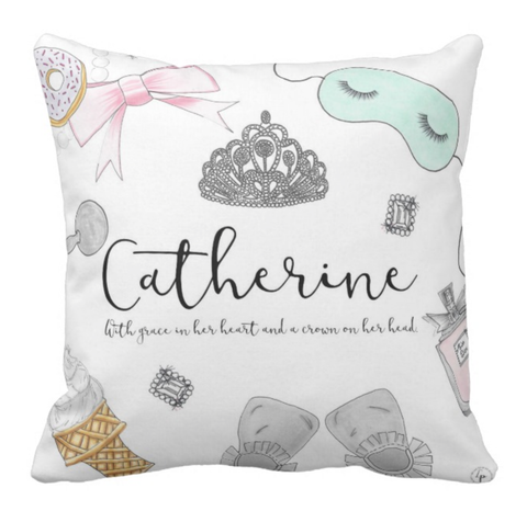 Breakfast at tiffany's Personalized Pillow