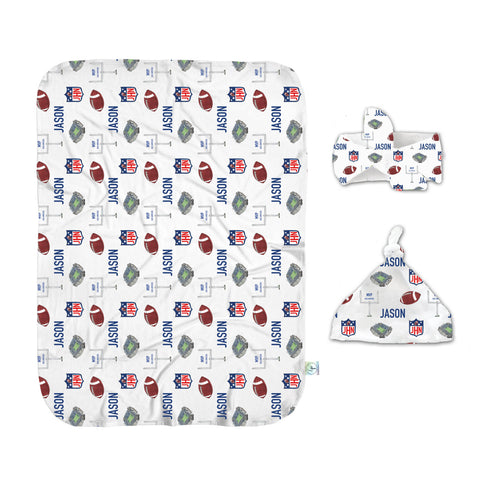 Touch Down Swaddle Set