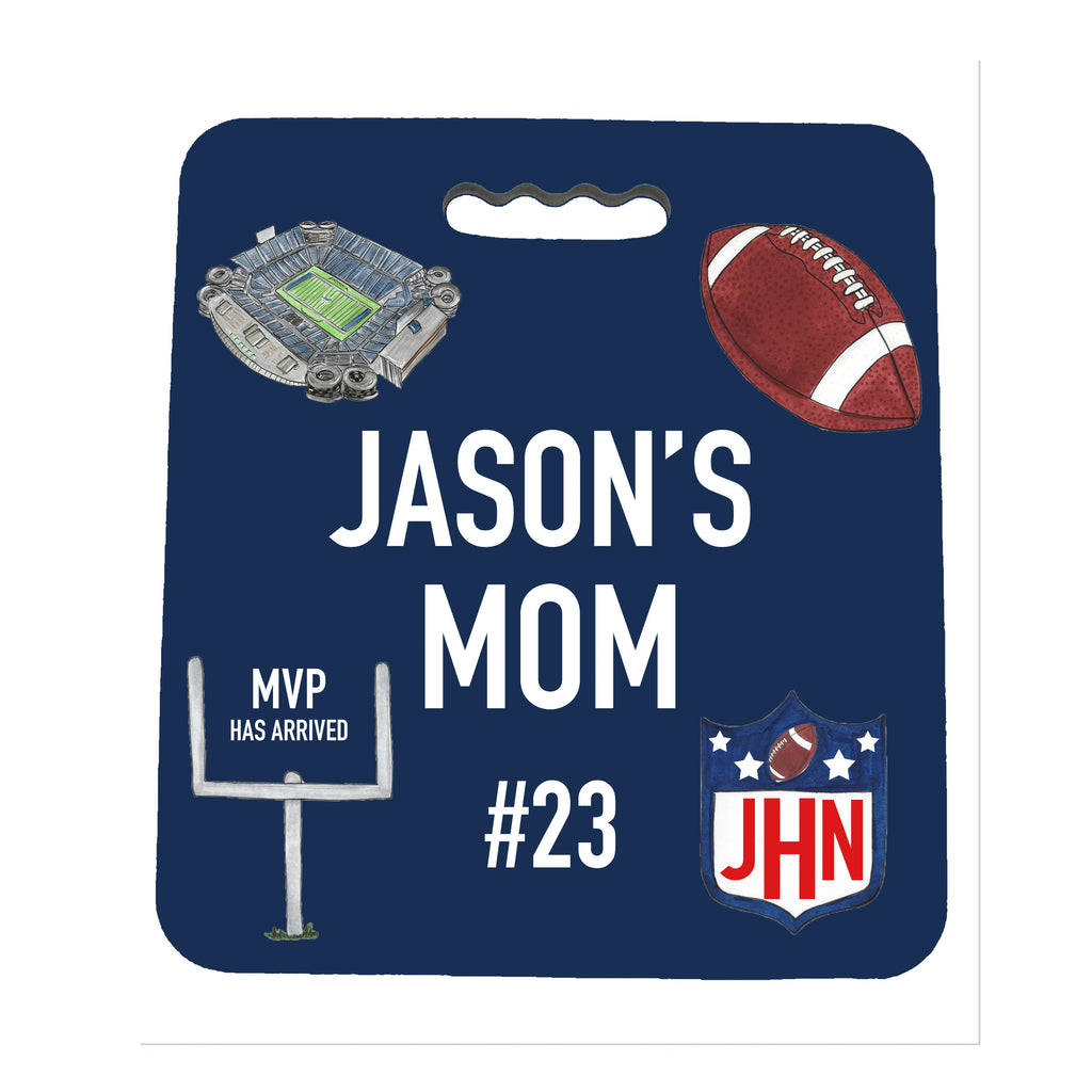Sport Mom Stadium Seat Cushion