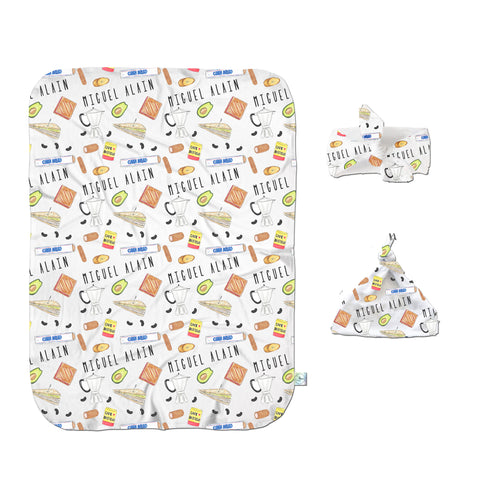 Hispanic Swaddle Set