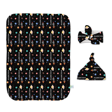 Out of this world Swaddle Set