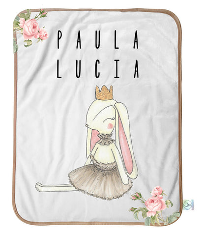 Some Bunny Loves You Personalized Blanket