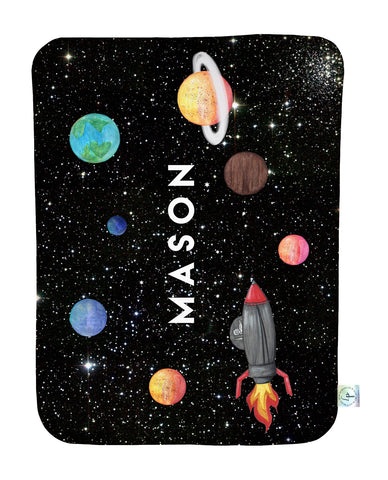 Out of This World Personalized Blanket