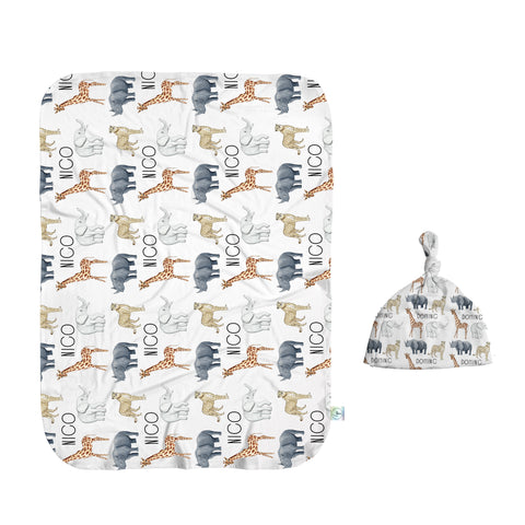 Safari Party Swaddle