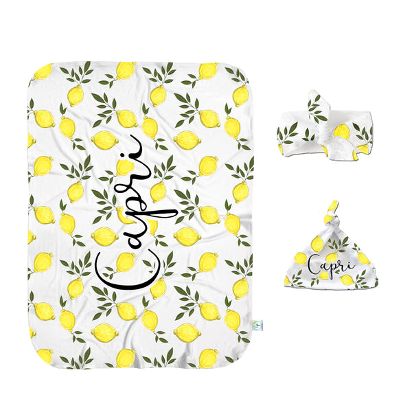 The Lemon of my Eye Swaddle Set