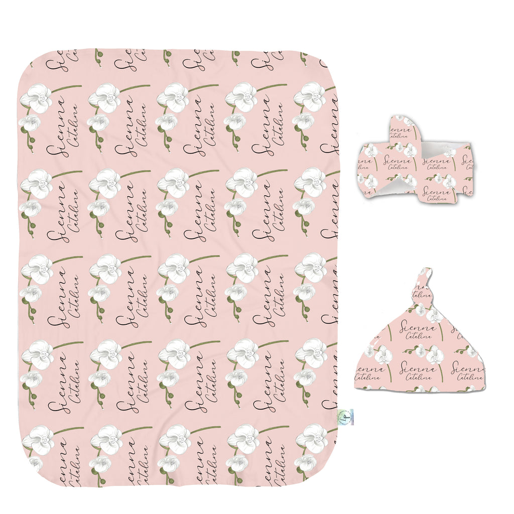 Growing Orchids Swaddle Set