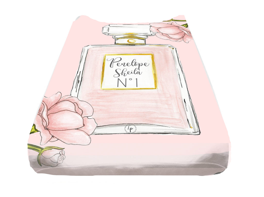 Perfume N*1 Personalized Changing Table Cover