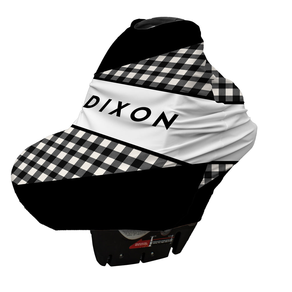 Plaid Me Canopy Cover