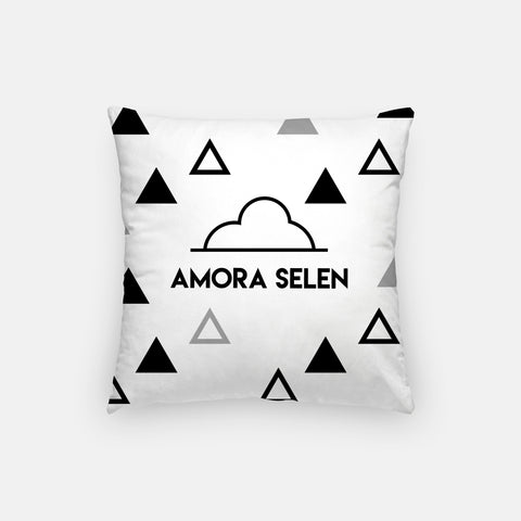 Monochrome Personalized Pillow