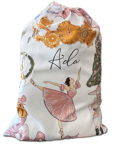 The Nutcracker Personalized Christmas Gifts Sack