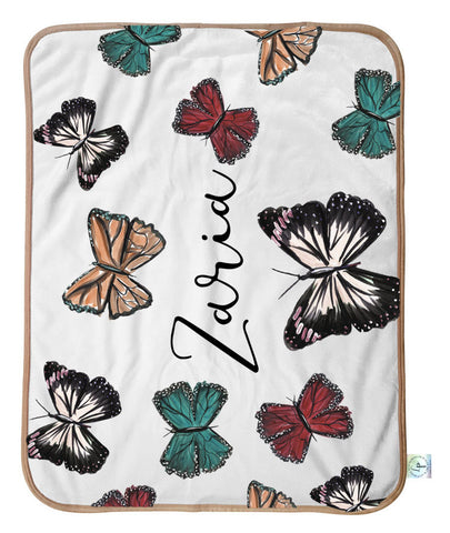 Come Fly With Me Personalized Blanket