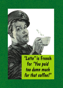 GC0018 - Latte is French for