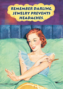 MA0105 - Jewelry prevents headaches